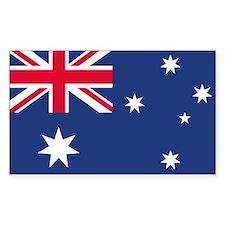Australian Flag Rectangle Sticker