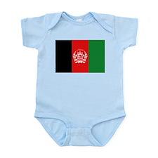 Afghan Flag Infant Creeper