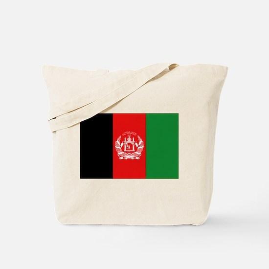 Afghan Flag Tote Bag