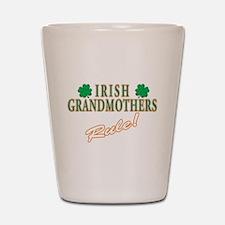 Irish Grandmothers rule Shot Glass