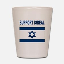 Support Isreal Shot Glass
