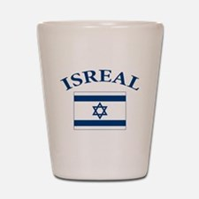 I love Isreal Shot Glass