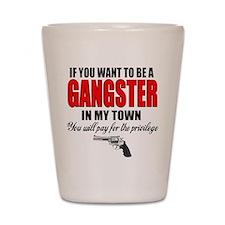 Gangster Shot Glass