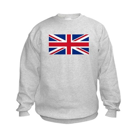 british flag Kids Sweatshirt
