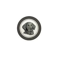 Flat-coated Retriever Mini Button