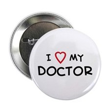 I Love Doctor Button