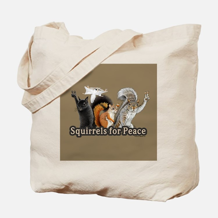 Cute Squirrels Tote Bag