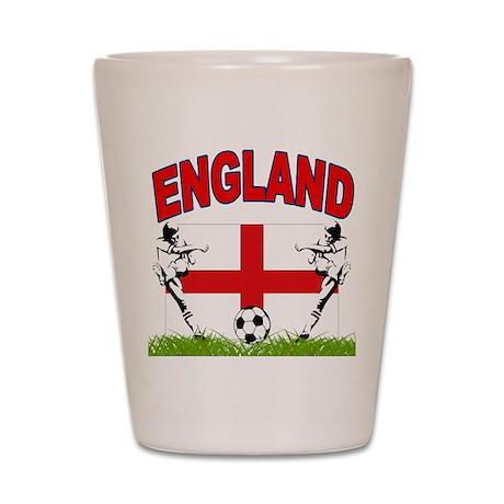 England World cup Soccer Shot Glass