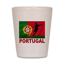 Portugal soccer Shot Glass