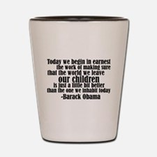 Obama & Future Hope Shot Glass
