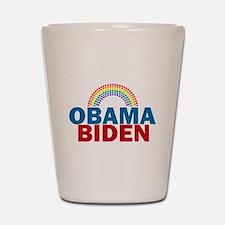 Obama Rainbow Shot Glass