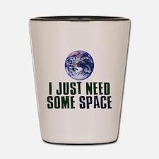 Astronaut Humor Shot Glass