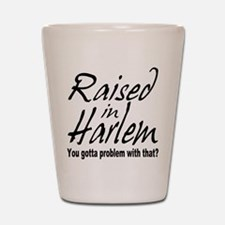 Harlem, new york Shot Glass