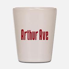 Arthur ave Shot Glass
