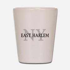 East Harlem New York Shot Glass