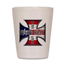Puerto rican warned you about Shot Glass