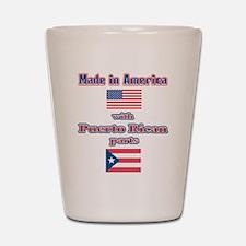 Puerto RICAN Shot Glass