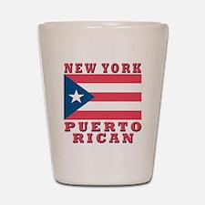 New York Puerto Rican Shot Glass