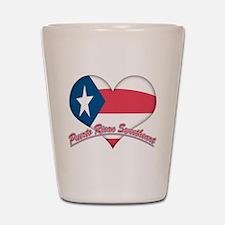 Puerto Rican Sweetheart Shot Glass