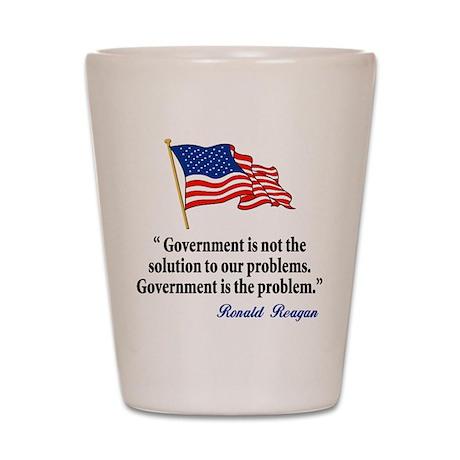 Tea party Revolt Shot Glass