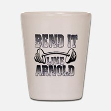 Bend it Shot Glass