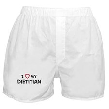 I Love Dietitian Boxer Shorts