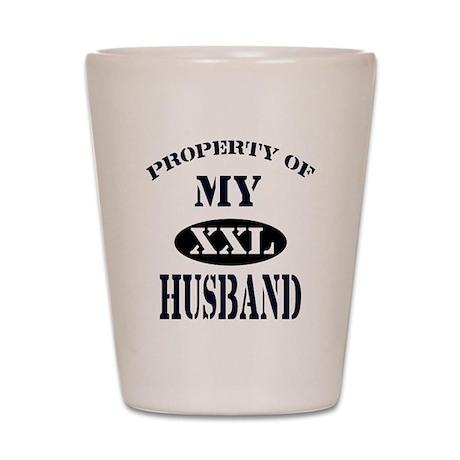 My husband Shot Glass