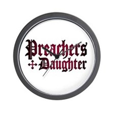 """Preachers Daughter"" Wall Clock"