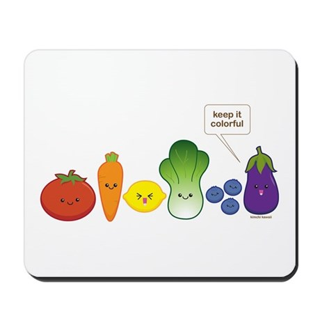 Keep It Colorful Mousepad