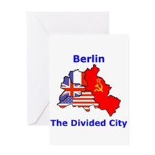 Berlin: The Divided City Greeting Card
