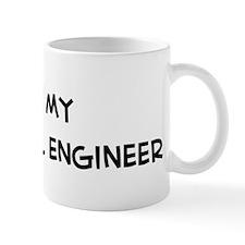 I Love Electrical engineer Mug