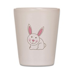 Cute Happy Easter Bunny/Bunni Shot Glass