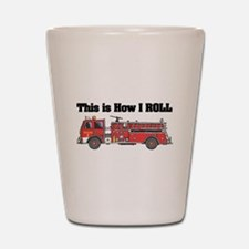 How I Roll (Fire Engine/Truck Shot Glass