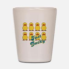 Just Ducky Ducks Shot Glass