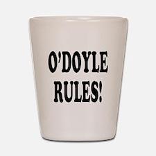 O'Doyle Rules! Shot Glass