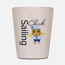 Sailing Chick Shot Glass