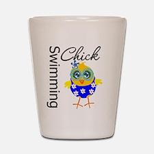 Swimming Chick Shot Glass