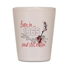 Born in 1965 Shot Glass