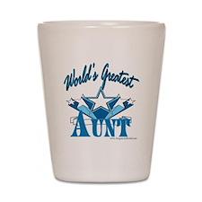 Greatest Aunt Shot Glass