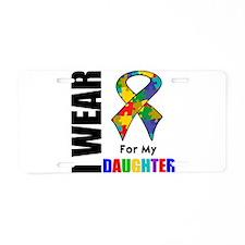 Autism Daughter Aluminum License Plate