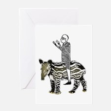 tapirRider Greeting Card