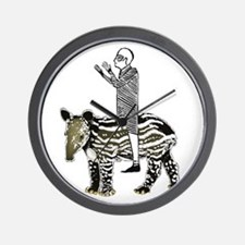 tapirRider Wall Clock