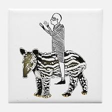 tapirRider Tile Coaster