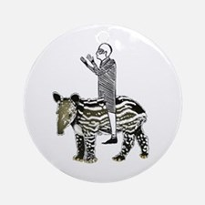 tapirRider Ornament (Round)
