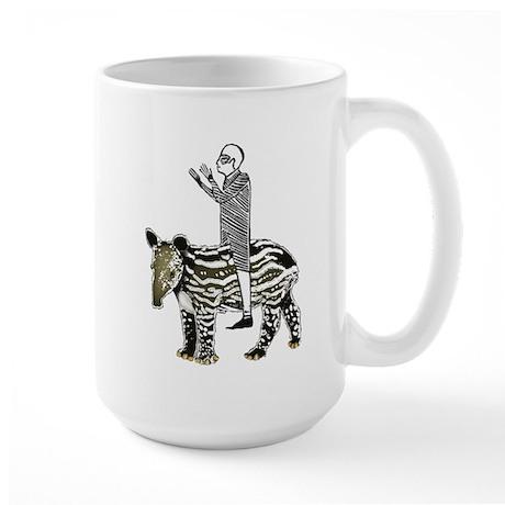 tapirRider Large Mug