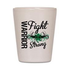 Fight Strong Liver Cancer Shot Glass