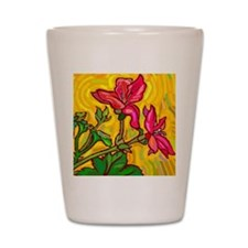 Floral Brights Shot Glass