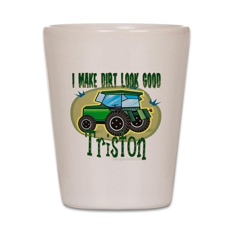 Triston Tractor Shot Glass