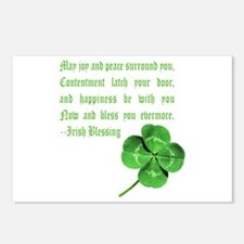 Funny Scottish st patrick Postcards (Package of 8)