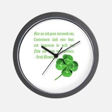 Cute Scottish st patrick Wall Clock